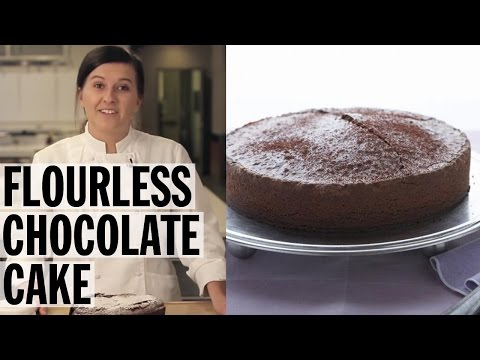 flourless-chocolate-cake-how-to-|-food-network
