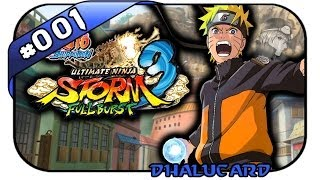 Naruto Shippuden: Ultimate Ninja Storm 3 Full Burst #001 - Deutsch German -
