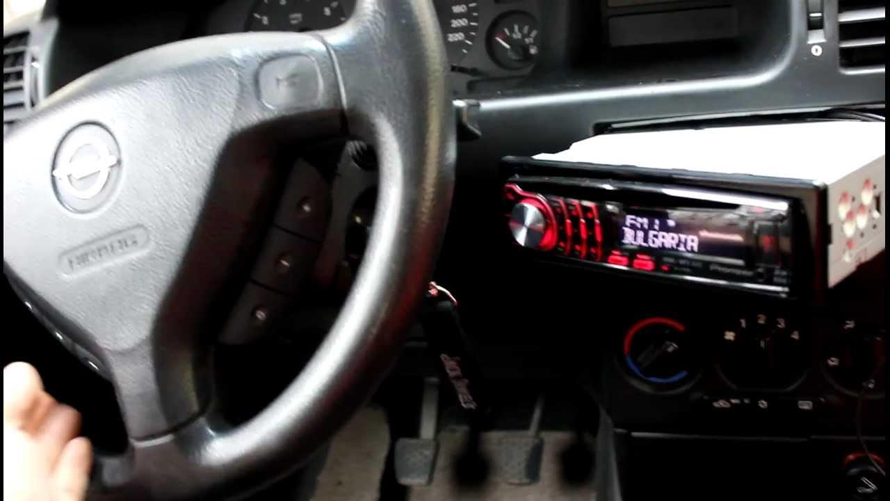 Zafira Pioneer Steering Wheel PIC16F684  YouTube