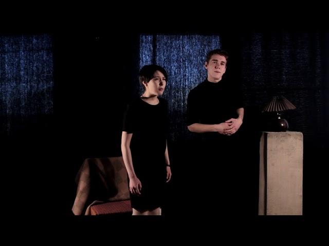 Изображение предпросмотра прочтения – «Кирилл Чирков и Екатерина Кожемякина» читает отрывок изпроизведения «Двенадцать» А.А.Блока