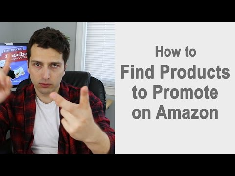 Finding Products to Promote On Amazon (Affiliate Site: PT1)