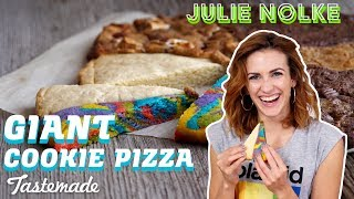 Giant Cookie Pizza | 5 Second Rule with Julie