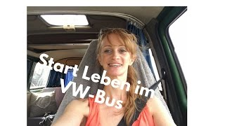 Wohnungsauflösung Endspurt - Leben im VW-Bus Start