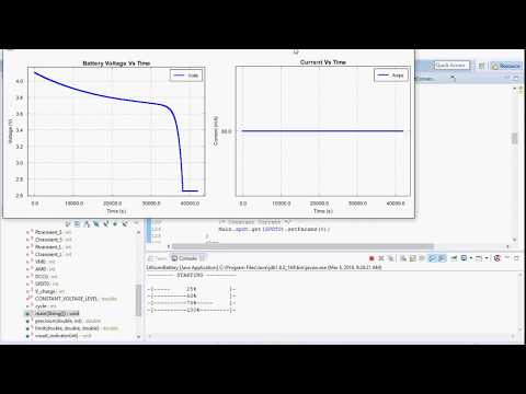 Lithium Ion Battery Simulation
