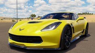 Chevrolet Corvette Z06 2015 - Forza Horizon 3 - Test Drive Free Roam Gameplay (HD) [1080p60FPS]