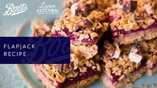 Boots X Livia's Kitchen | Flapjack Recipe (Vegan and Gluten Free)