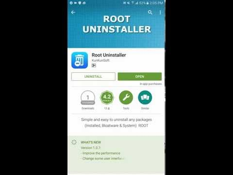 Root Uninstaller - Uninstall, Disable & Freeze Any Package & Service (Installed, Bloatware & System)