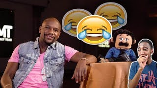 Awkward Puppets | Best Floyd Mayweather Interview *REACTION*