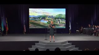"Paula White ministering on ""The God of the Impossible. Your story is not over!"""