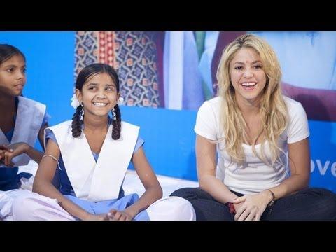 Shakira Promotes Girls'