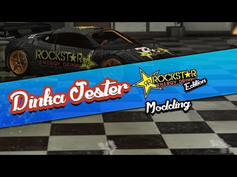 GTA V - Dinka Jester ROCKSTAR ENERGY DRINK - MOD