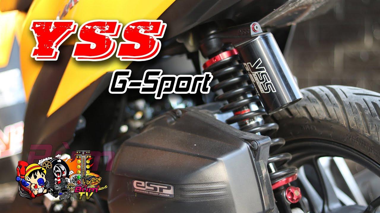 [Vario Độ Phần 2] Lắp Phuộc Yss G-Sport cho Vario | Hướng Dẫn | Bùm TV