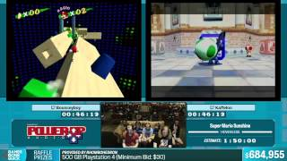 Super Mario Sunshine by Bounceyboy, Kaffelon in 1:33:33 - Summer Games Done Quick 2015 - Part 139