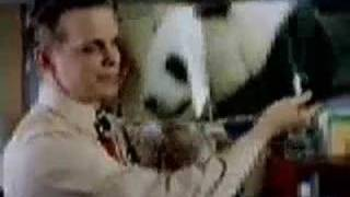 Snickers Panda commercial