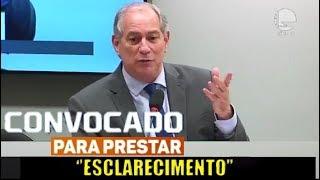 """Ciro Gomes faz apresentação impactante após ser convocado na Camara Federal"""""""