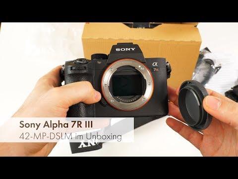 Sony Alpha 7R III | Profi-DSLM-Kamera im Unboxing [Deutsch]