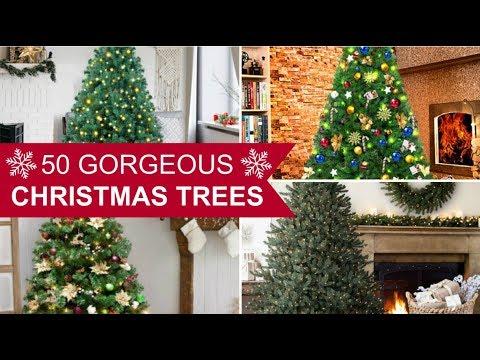 50 Gorgeous Christmas Tree Decorating Ideas