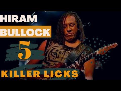 Hiram Bullock-5 KILLER Licks