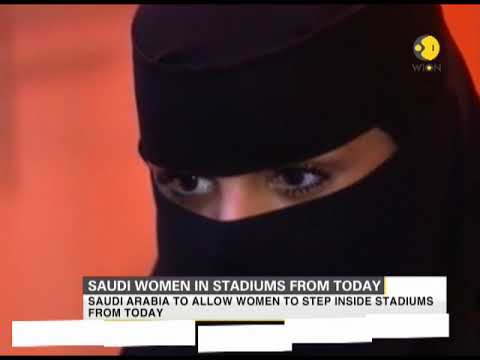 Saudi women in stadiums from today
