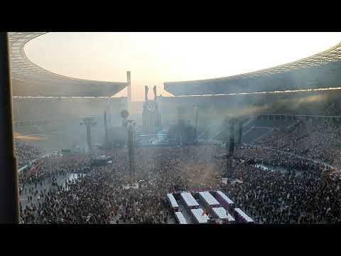 Rammstein Berlin 22.06.19 - Intro & Was Ich Liebe