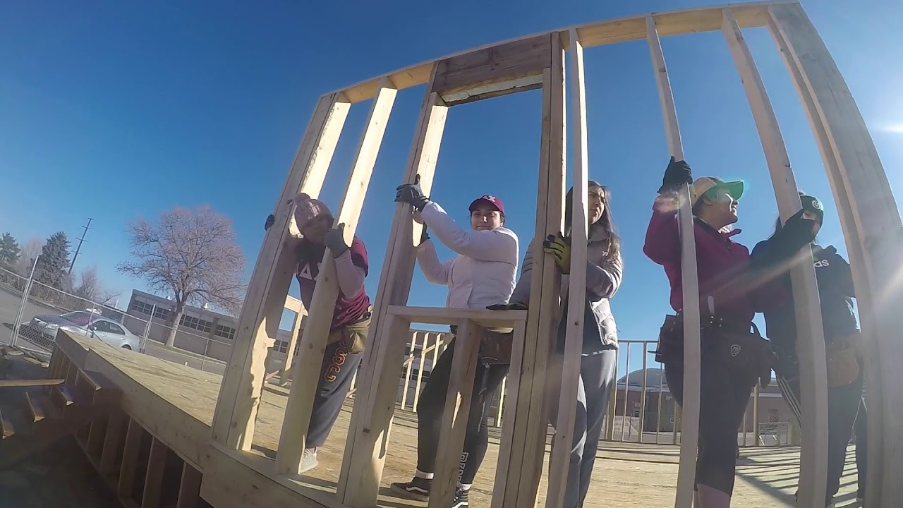 Kappa Delta Chi Fort Collins Habitat For Humanity Youtube