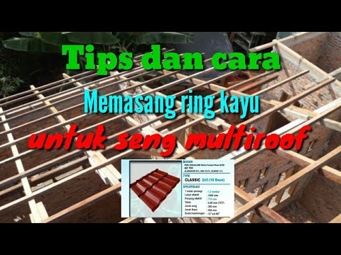 Jarak Reng Baja Ringan Atap Multiroof Cara Dan Tips Memasang Kayu Untuk Genteng Metal Fh