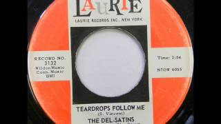 "The Del-Satins ""Teardrops Follow Me"" - 1962 -"