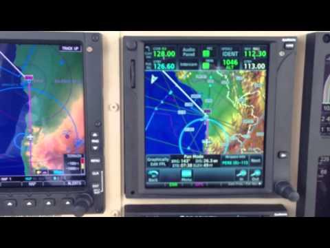 Cessna 340 @FL210