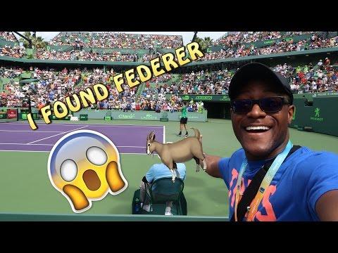 Miami Open 2017 Vlog 1: FEDERER VS TIAFOE