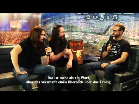 DREAM THEATER - Interview Live @ Wacken 2015 HD AC3
