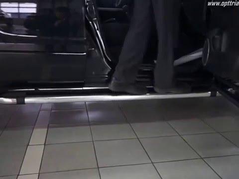 Тест порогов Can Otomotiv на Suzuki Grand Vitara