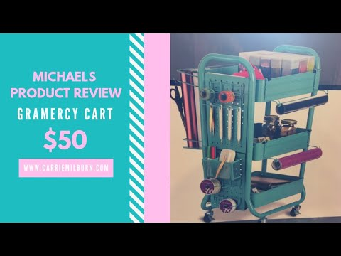 7e88347c4b40 Michael's Product Review: Gramercy Cart $50