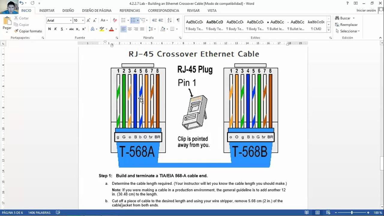 ethernet rj45 connector wiring diagram