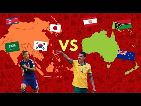 OCEANIA VS ASIA! | WORLD CUP 2018 (PREDICTION/SCENARIO!)