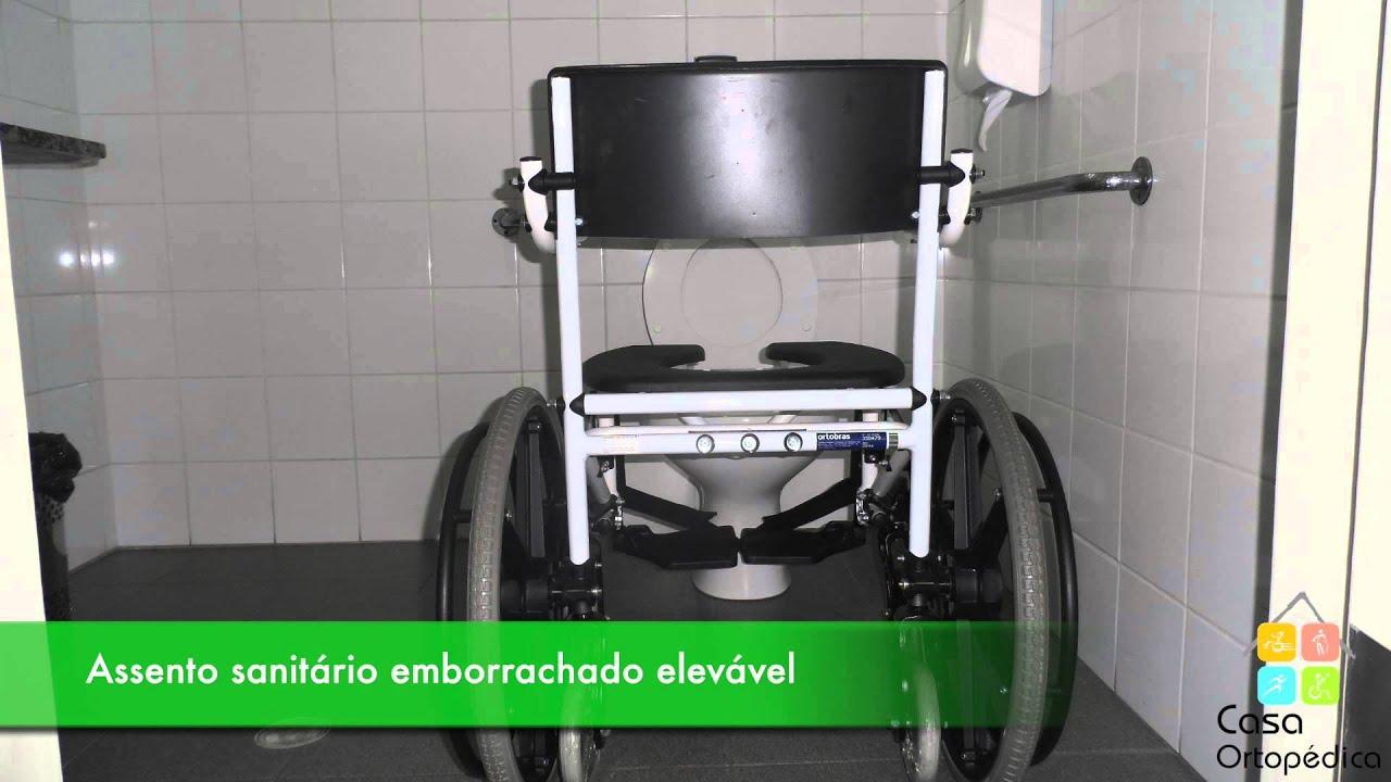 e6d360950 Cadeira de Banho Ortobras - H1 – Casa Ortopédica - YouTube
