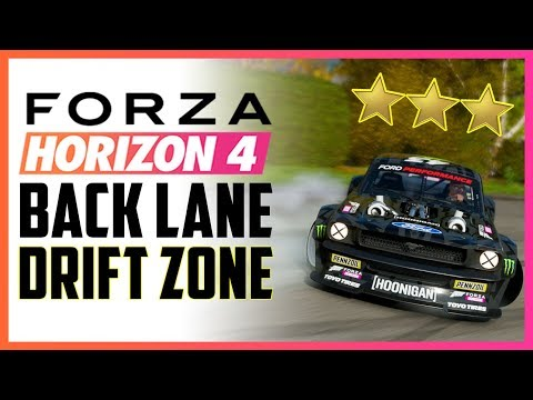Back Lane Drift Zone - FORZA HORIZON 4 - Seasonal Objective thumbnail