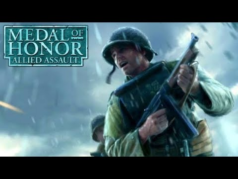 Medal Of Honor Allied Assault Gameplay On Core 2 Due E7300 @ 2 66GHz  G33 G31 expess chipset GMA3100
