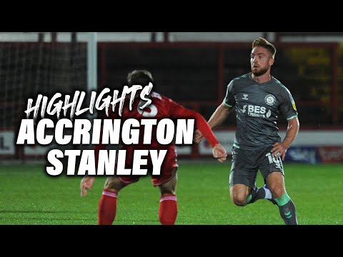 Accrington Fleetwood Town Goals And Highlights