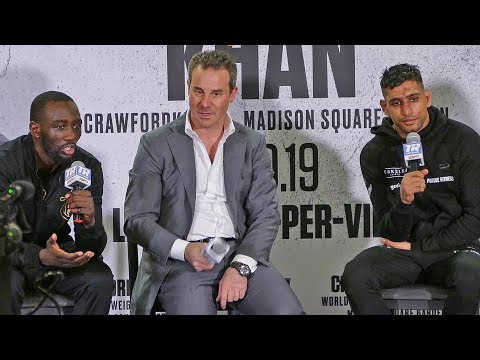 Terence Crawford vs. Amir Khan ** POST FIGHT PRESS CONFERENCE ** NYC