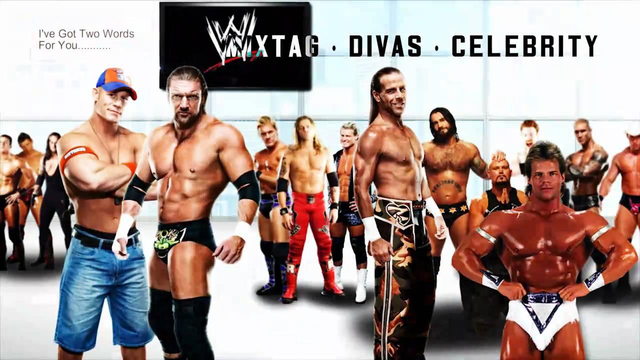 Liste des superstars de la WWE datant