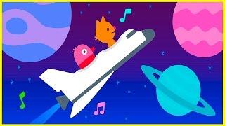 Саго Мини самолёт и космическая ракета - Мультики про Sago Mini для детей малышей и самых маленьких