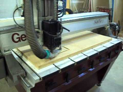 Used Gerber Sabre 408 Cnc Router 4x8 Table 7hp Spindle