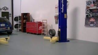 GCM Scale Garage - Building a Scale Bench Tutorial