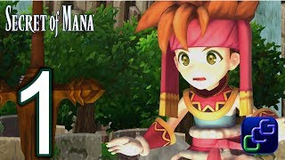 Secret Of Mana Remake PC Walkthrough - Gameplay Part 1