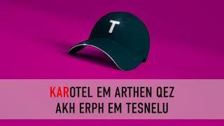 Tata Simonyan - Amenalave Du es  #KARAOKE