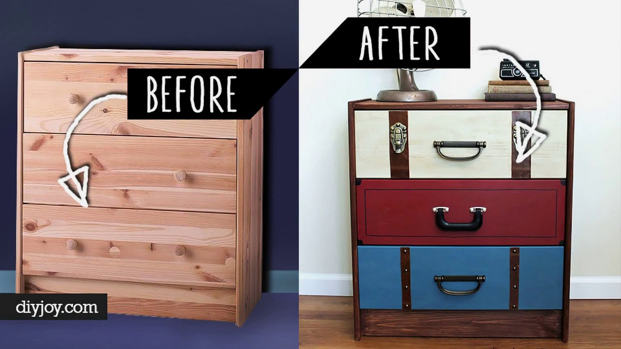 40 Furniture Makeover DIY Ideas | With Chalk Paint Dresser ...