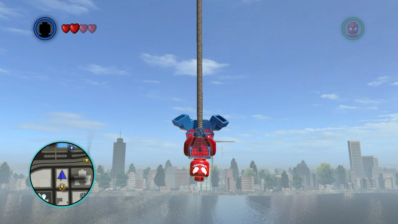 how to make superman in lego marvel superheroes