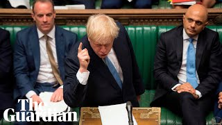 Jeremy Corbyn has turned into a remainer, says Boris Johnson during Commons clash