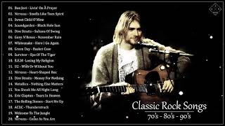 Top 100 Classic Rock Songs 80's 90's - Best Classic Rock Collection