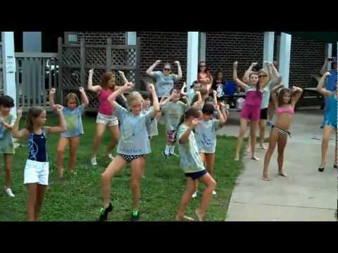 Summer Camp Music in Motion Flash Mob